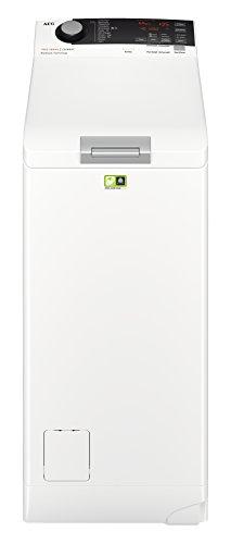 AEG L7TE74265 Waschmaschine Toplader / ProSteam - Auffrischfunktion / 6,0 kg / Leise / Mengenautomatik / Nachlegefunktion / Kindersicherung / Allergikerfreundlich / Wasserstopp / 1200 U/min