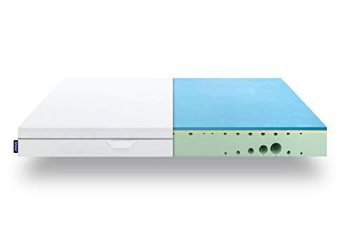 EMMA One Matratze - 160x200 cm, Liegegefühl Hart - ergonomische 7 Zonen Matratze - atmungsaktiv - 100 Nächte Probeschlafen - Öko-Tex Zertifiziert - Entwickelt in Deutschland