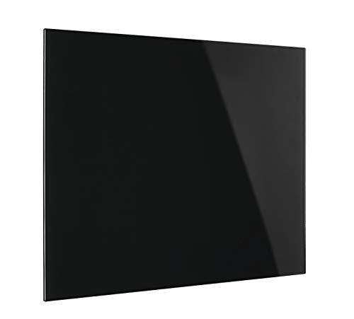 Magnetoplan 13403012di design vetro Boards, magnetico, 800X 600mm, Profondo Nero