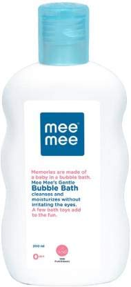 Mee Mee Gentle Baby Bubble Bath (with Cherry Extracts- 200 ml (Single Pack))