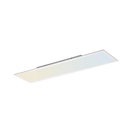 LED Panel, 120x30, IP 20, dimmbar mit Fernbedienung, Deckenleuchte, Farbtemperatursteuerung, warmweiss – kaltweiss, Decken-Lampe, flach, indirekte Deckenbeleuchtung