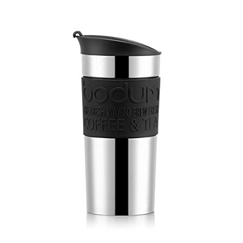 Travel Mug de voyage sous vide, 0,35 l, couvercle rabattable, Plastique,...