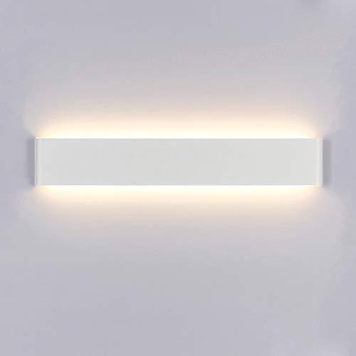 Yafido Wandleuchte Innen LED 60CM Wandlampe Warmweiß 20W Modern Up Down Wandbeleuchtung Wandlicht für Schlafzimmer Wohnzimmer Flur Treppen AC 230V