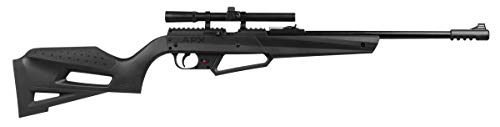 Umarex 2251600 NXG APX Multi-Pump Pneumatic Youth .177 Caliber Pellet or BB Gun Air Rifle - Includes 4x15mm Scope, Standard Kit, Black