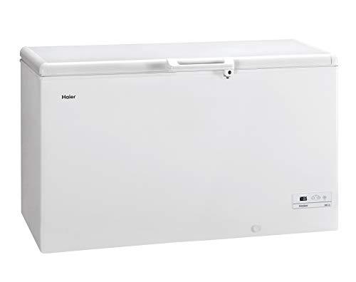 Haier HCE429F, Congelatore a pozzetto, 413 Litri,