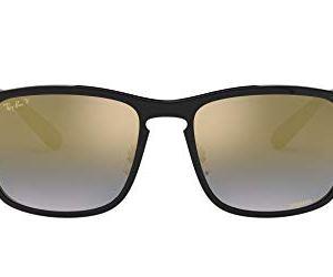 Ray-Ban Men's Rb4264 Chromance Mirrored Square Sunglasses 12