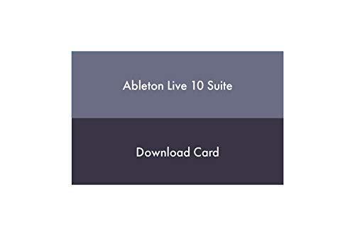 Ableton Live 10 Suite Multitrack Recording Software