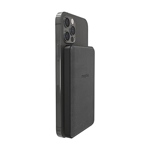 mophie snap+ Juice Pack Mini - Magnetic and Portable Wireless Charger