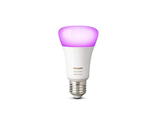 Philips Hue Ampoule connectée White & Color E27 - Fonctionne avec Alexa -9.5 W
