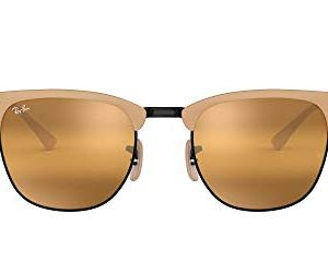 Ray-Ban Rb3716 Clubmaster Metal Square Sunglasses 34