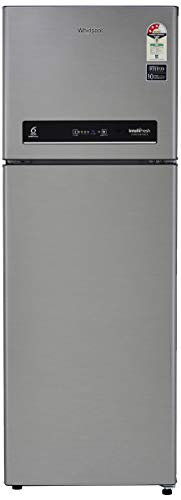 Whirlpool 265 L 3 Star Inverter Frost-Free Double Door Refrigerator (INTELLIFRESH INV CNV 278 3S, German Steel, Convertible)