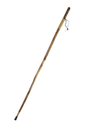 SE Survivor Series Rope Wrapped Wooden Walking/Hiking Stick with Hand-Carved Eagle Design, 55' - WS626-55RE