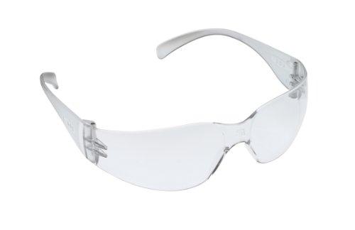 3M Virtua Protective Eyewear, Clear Frame, Clear Anti-Fog Lens