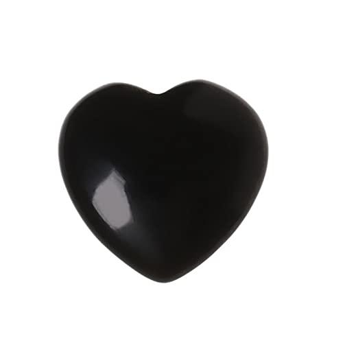 XIANGE100-SHOP Piedra de la Palma de Cuarzo de Piedra Rosa de Cristal con una Bolsa Tallada de hojaldre del corazón de Bolsillo Conjunto para el Paquete del día de la Madre de 10 Piezas (Color : 13)