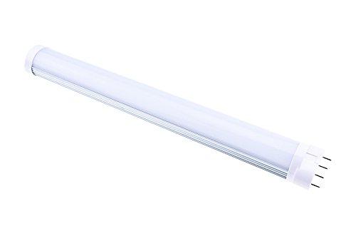 Lampadina a LED 2G11 Attacco 12W Bianco Naturale LuxVista Lampada PL-L Tubo 2G11 4P 4 Pin 1200lm Equivalente a 24W CFL Fluorescente Lampadina a Risparmio Energetico 320mm AC 85-265V