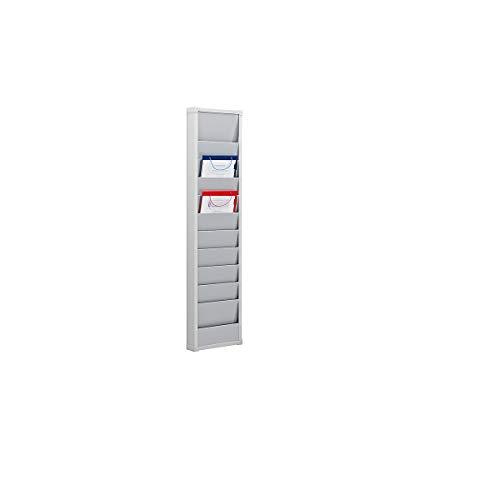 EICHNER Planungstafel Werkstattplaner 31,5 x 7,7 x 118,5 cm (BxTxH) für DIN A4