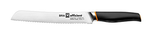 Bra Efficient Cuchillo de pan, Acero Inoxidable, Gris, 3x5x34 cm
