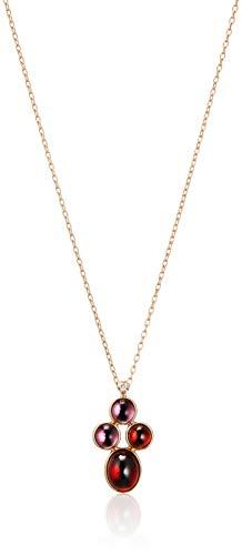 [ヴァンドーム青山] ピンクゴールド AGAN648945GN K18ピンクゴールド ガーネット ダイヤモンド ネックレス