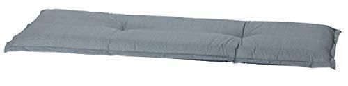 "Madison 4-Sitzer Bankauflage A 046\"", ca. 180 x 48 x 8 cm, Uni grau"