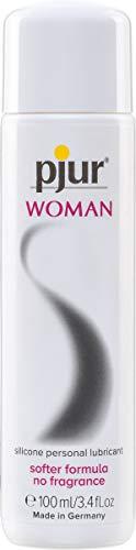 pjur WOMAN - Gleitgel für Frauen auf Silikonbasis - für prickelnden Sex und längeren Spaß - optimal für empfindliche Haut - 1er Pack (1 x 100 ml)