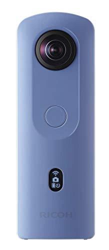 Ricoh THETA SC2 BLUE 360Fotocamera 4K Video con stabilizzazione dell'immagine Alta qualit di trasferimento dati ad alta velocit Bella visione notturna ripresa con basso rumore, Blu