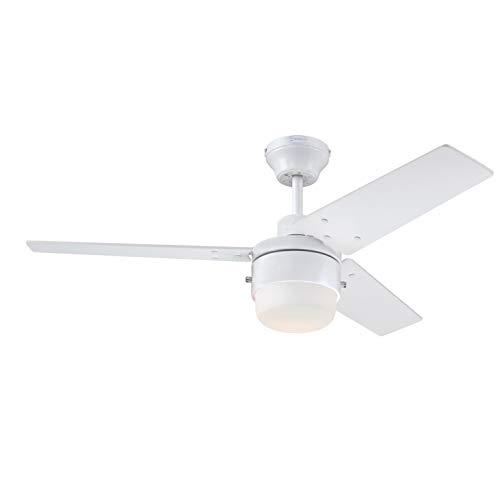 Westinghouse Lighting Ceiling Fan, Bianca