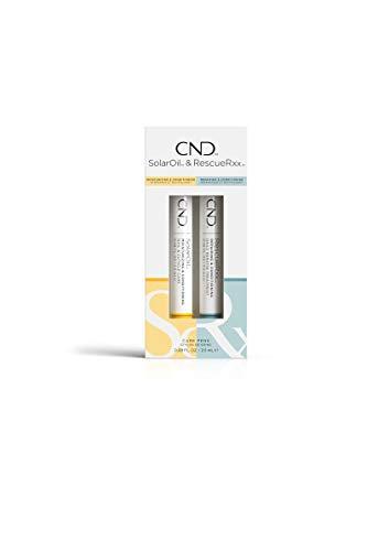 CND SolarOil & RescueRXx Care Pens Duo Pack 0.08 Fl Oz x2 / 2.5 ml x 2