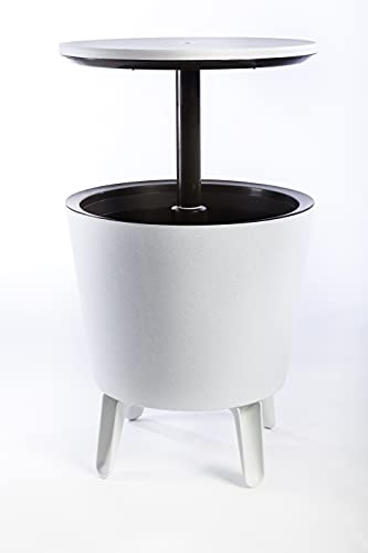 Keter Cool Bar Portaghiaccio, Grigio, 49.5x84.5x49.5 cm