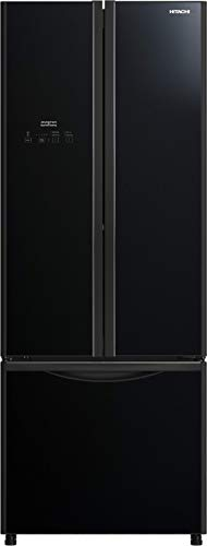 Hitachi 510 L with Inverter 3 Door Refrigerator (R-WB560PND9-(GBK), Black)