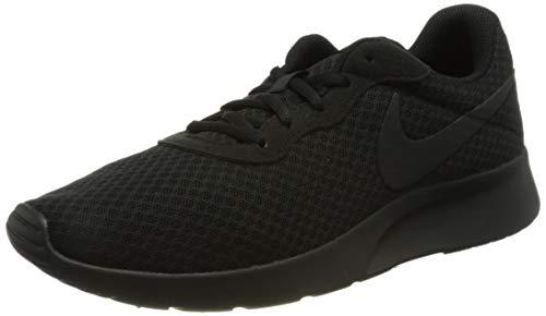 Nike Herren Tanjun Sneaker, Schwarz Black Black Anthracite, 45 EU