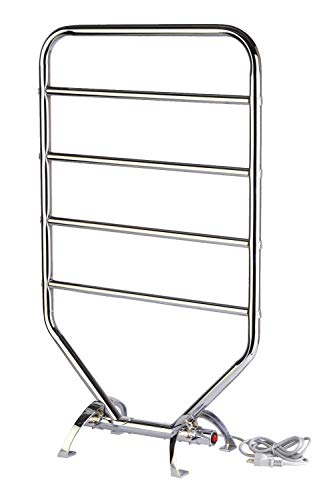 Warmrails RTC Traditional Wall Mounted or Floor Standing Towel Warmer, Chrome Finish