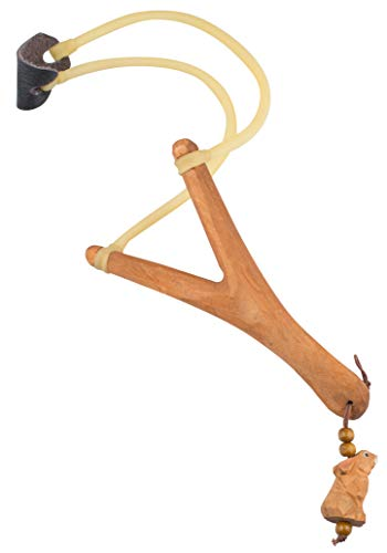 AceCamp Steinschleuder aus Holz I professionelle Outdoor-Zwille für Sport, Jagd, Angeln und Baumpflege, 8400