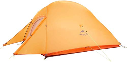 Naturehike Cloud-Up Nylon 1, 2 and 3 Person Lightweight Waterproof Camping, Hiking Backpacking Tent...