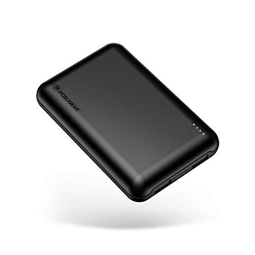 POSUGEAR Powerbank 20000 PD 22.5W, Caricatore Portatile Ricarica Rapida QC3.0 & USB C PD con 3 Uscite Compatibile con Telefoni Tablet Laptop (Due Cavi Offerti - USB C e Micro)