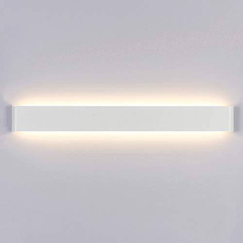 Yafido Applique da Parete Interno Moderno LED 90CM Lampada da Parete 30W Bianco Caldo Lampada da Muro 3000K Perfetto per Camera da Letto Soggiorno Corridoio Bagno Scale