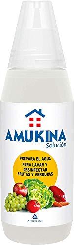 AMUKINA Solución Líquida Frutas y Verduras - 500ml - Lava