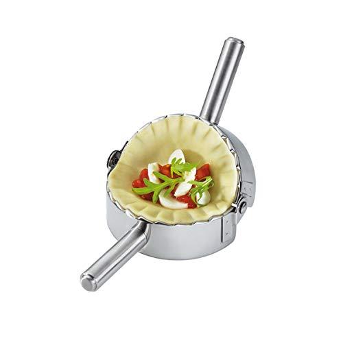 Best Utensils Stainless Steel Ravioli Mold Pierogi Dumpling Maker Wrapper Pastry Dough Cutter Kitchen Accessories (L: 4.5 inch)