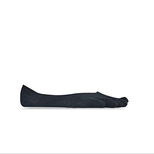 Vibram Five Fingers Calzini da uomo Ghost Socks, Uomo, calzini, S15G02S, Nero , S
