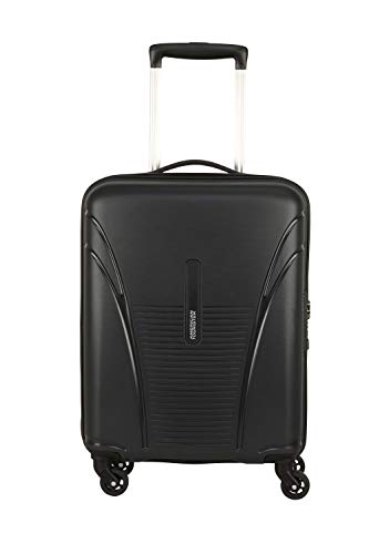 American Tourister Ivy PP 55 cms Black Hardsided Spinner Luggage with Built-in TSA Lock FO1 (0) 09...
