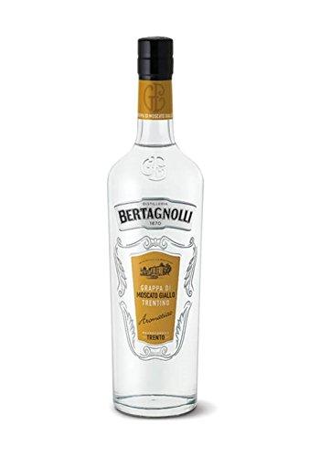 Grappa di Moscato Giallo Trentino(Aromatica) 0.70L 40- Distilleria Bertagnolli