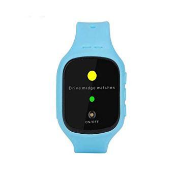Onde Mosquito Silicone étanche Son électronique Répulsif Watch, Anti-Moustique Artefact, utilisé pour Le Camping et la randonnée, pour Adultes et Enfants,Bleu