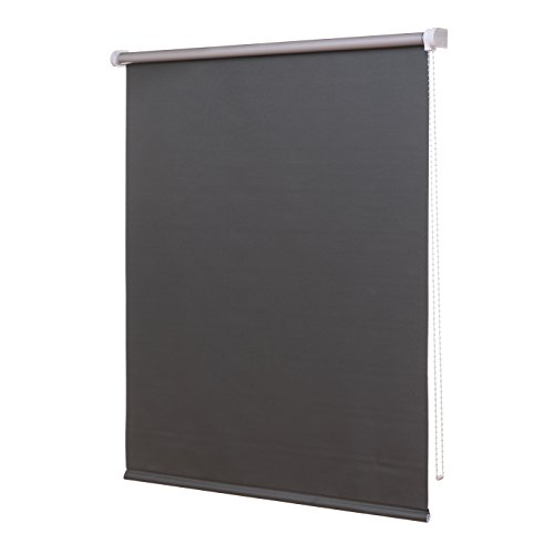 Ventanara Thermorollo Verdunkelungsrollo inklusive Montagematerial (180 x 220 cm, Grau)