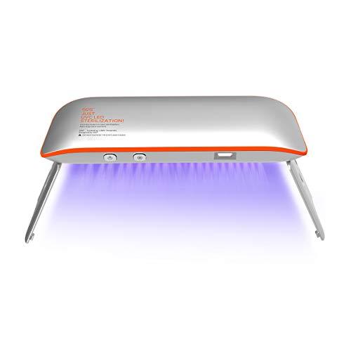 Esterilizador UV Portátil, 59S Esterilizador UV Portátil LED con 6...