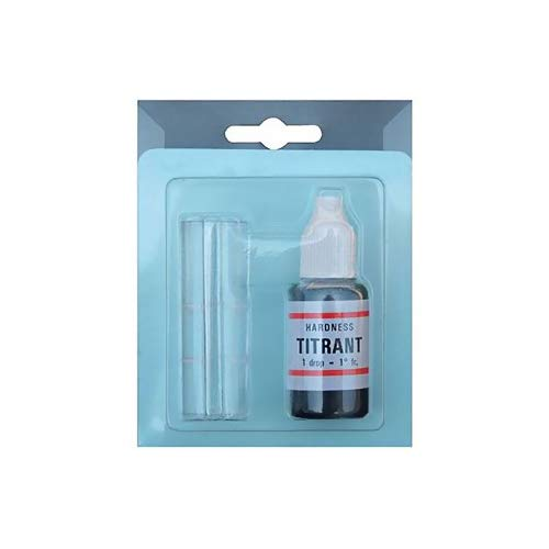 BLUBAYSHOP Titrant Kit durezza Acqua per addolcitori per misurare calcare