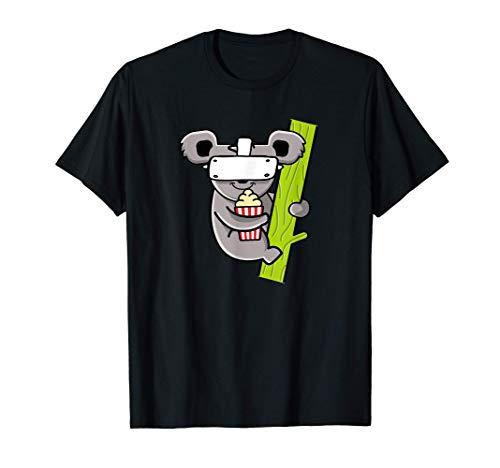 Virtual Reality Koala - Lustiges VR Gamer T-Shirt