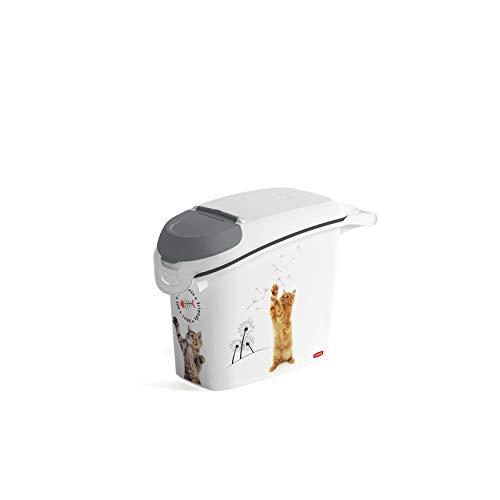 CURVER 241105 - Contenedor para Pienso 6 Kg/ 15 L, 23 x 50 x 35 cm