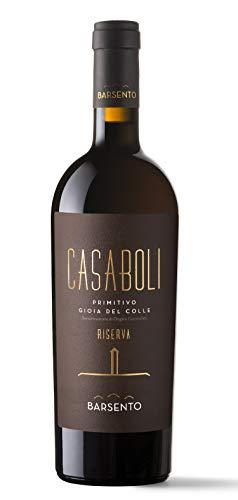 Casaboli Primitivo'Gioia del Colle DOC' Cantine Barsento (box da 3 bottiglie)