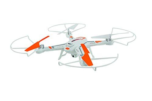 XciteRC 15002110 - RC Quadricopter - Rocket 260 3D, 4 canali RTF Drone con 0,3 MP Fotocamera, Bianco