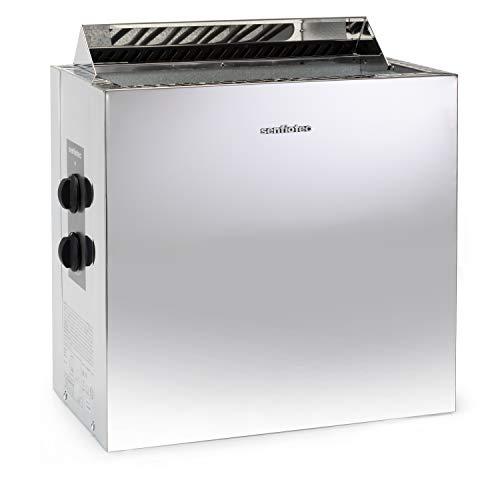 Sentiotec Nordex Style 6/8/9 kW Saunaofen mit integrierter Steuerung (6 kW)