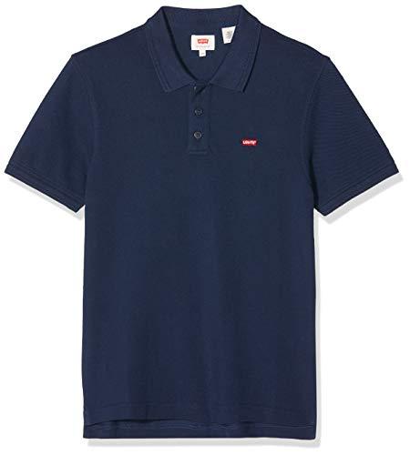 Levi's Housemark Polo Camiseta, Azul (Dress Blue 0003), X-Small para Hombre